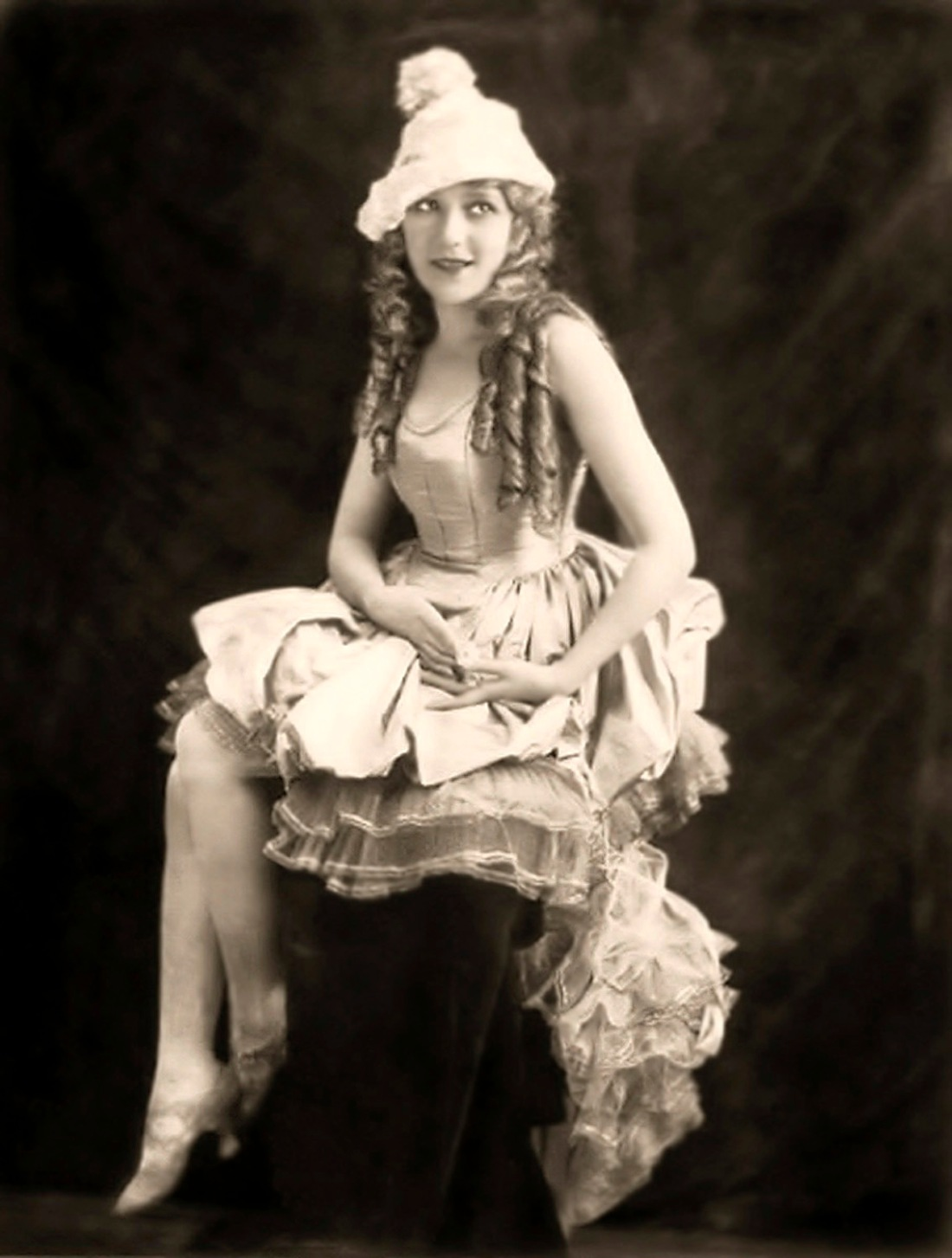 Mary Pickford - Ziegfeld - c. 1920s - by Alfred Cheney Johnston
